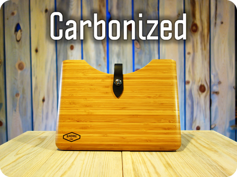 "Carbonized Bamboo Wood Blackbox Case for your Apple 12"" MacBook"