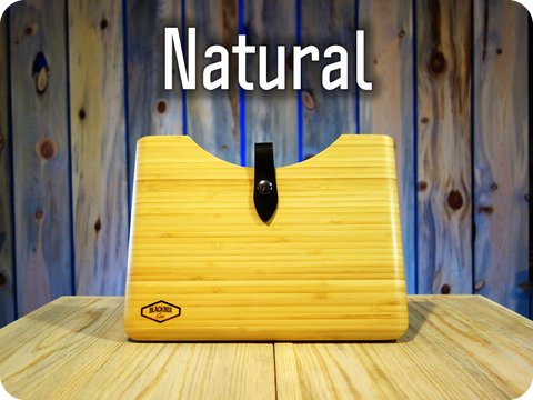 "Natural Bamboo Wood Blackbox Case for your Apple 12"" MacBook"