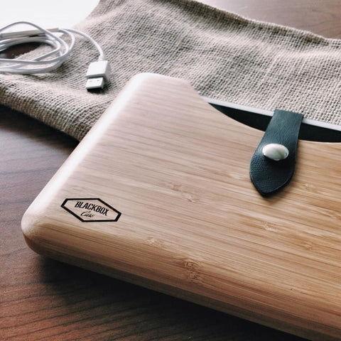 Blackbox Case Awesomeness Bamboo Mac iPad Wood Cases