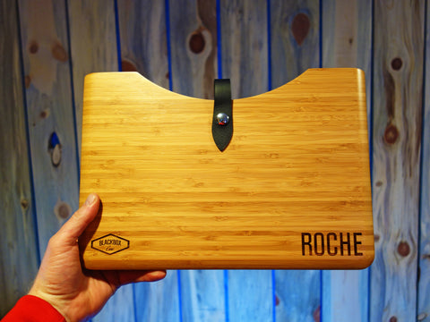 Apple 13inch MacBook Pro Retina Wood Case - Kevin Roche