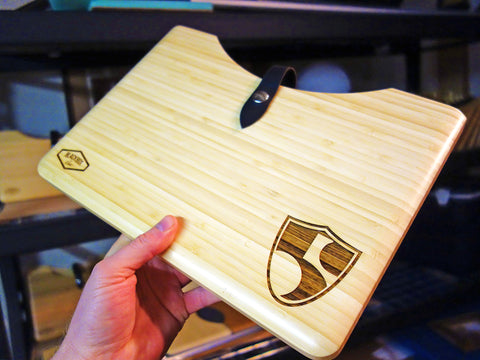 "High Fives Foundation 13"" MacBook Bamboo Wood Blackbox Case for Roy Tuscany"