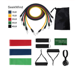 M&Nature Resistance Band Set for Home Fitness (11 or 14 pack) - M&Nature