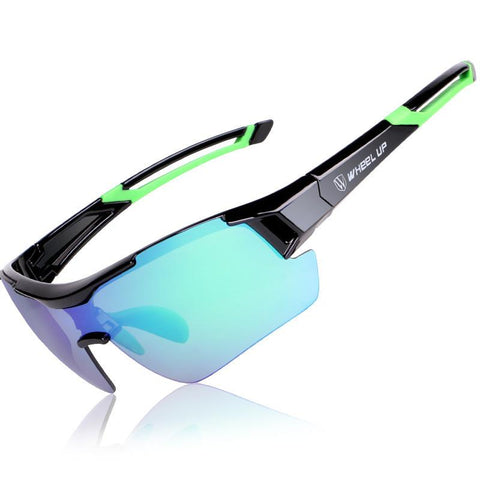 Polarized Outdoor sunglasses with three color pairs including prescription glasses frame - M&Nature