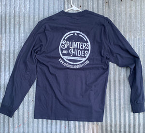 Splinters and Hides Logo T-shirt | Long Sleeve T-shirt