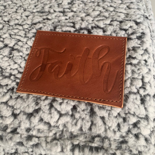 Sherpa Blanket | Brown | Faith