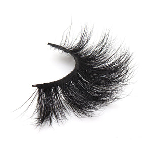 25mm Leangth 5D Mink Eyelashes Dramatic Volume Hair new model