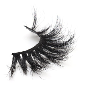 25mm 5D Mink Eyelashes Dramatic Volume Long Hair