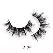 Load image into Gallery viewer, HandMade natural mink 3D eyelashes