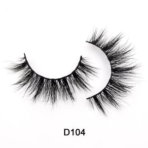HandMade natural mink 3D eyelashes