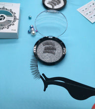 Load image into Gallery viewer, HaHaLash hand made 3D synthetic hair magnetic eyelashes