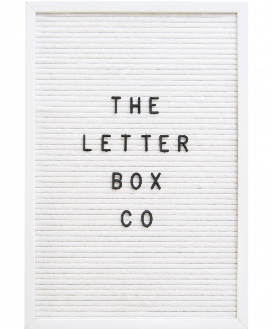 The must have at events, weddings or parties:  The rectangle 12 x 18 inch felt letter board in white oak frame and white felt.  This board is best suited for simple, classy events, functions or weddings, alongside a touch of glass and gold ware! It could very well serve as a family message board as well.