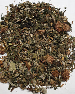 Herbal Tea Blend Organic - Wild Women