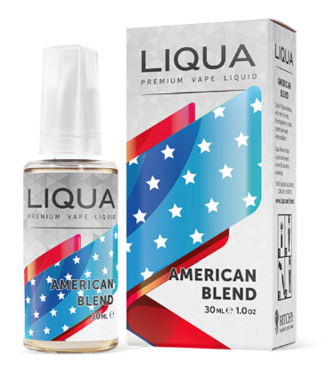 AMERICAN TOBACCO ELEMENTS 30ml E-Liquid LIQUA