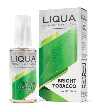 BRIGHT TOBACCO 30ml ELEMENTS E-Liquid LIQUA