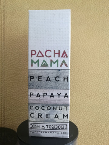 PACHAMAMA Peach Papaya Coconut Cream 60ml 3mg