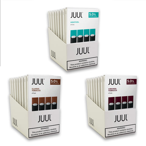 JUUL Pods 5% Paquete de 4 Wholesale