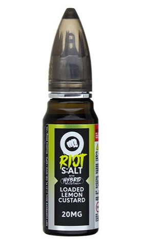 Loaded Lemon Custard Nicotine Salts by Riot Squad