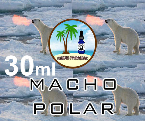 Macho Polar - LIQUID PARADISE PREMIUM ELIQUID (tropical breeze v2)