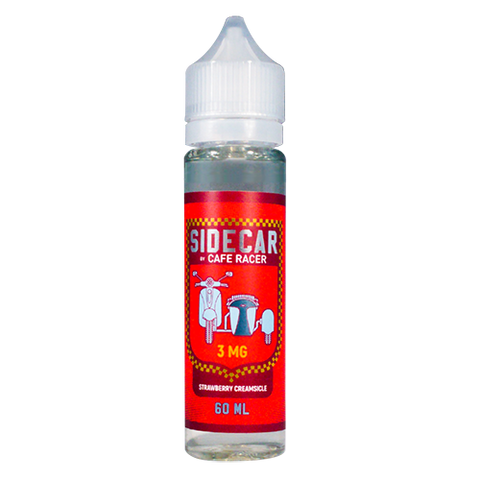 Strawberry Creamsicle 60ml SideCar by Cafe Racer