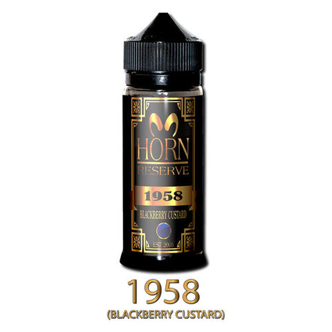 Blackberry Custard 1958 Horn Reserve 120 ML by Horn CO
