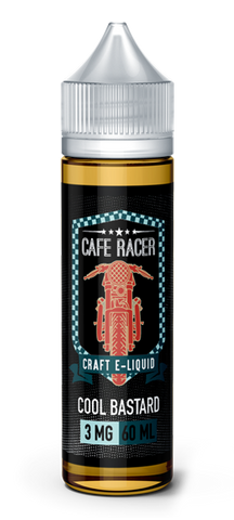 60ml Cool Bastard  Amazing e-liquid by Cafe Racer