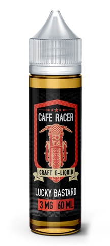 60ml Lucky Bastard  Amazing e-liquid by Cafe Racer