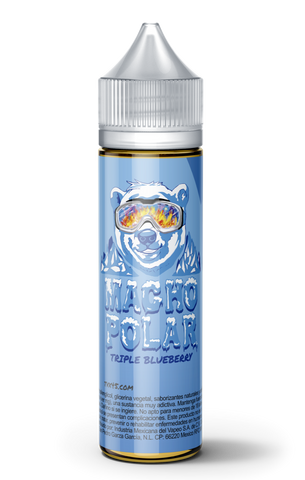 60ml Macho Polar Triple Blueberry - LIQUID PARADISE