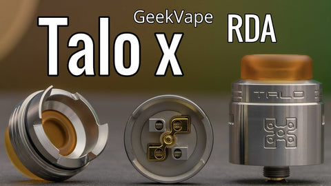 Talo X RDA by Geek Vape