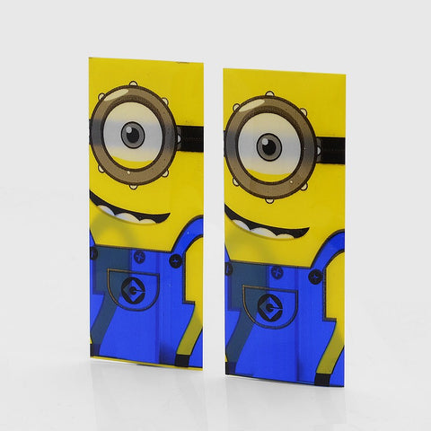 Minion battery Wraps