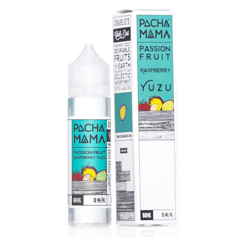 Pachamama Passion Fruit Raspberry Yuzu  60ml -