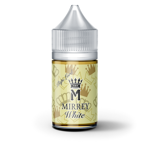 PapiLord White Nicotine Salts 30ml by Mirrey
