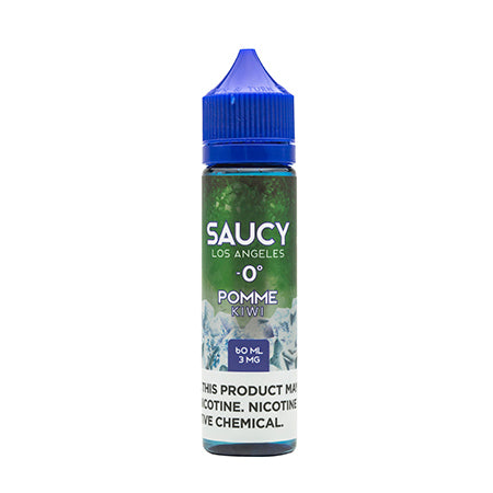 Saucy Menthol - Kiwi 60 ml