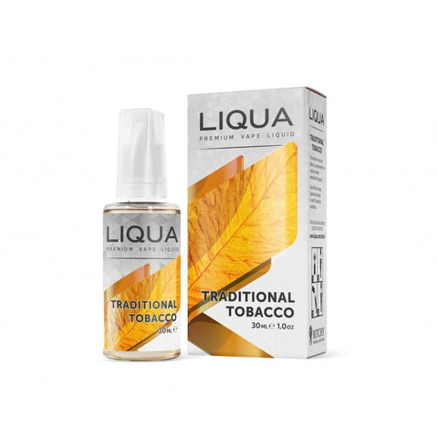 TRADITIONAL TOBACCO ELEMENTS 30ml E-Liquid LIQUA