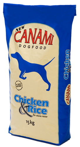 Hund Canami Chicken & Rice 15 kg