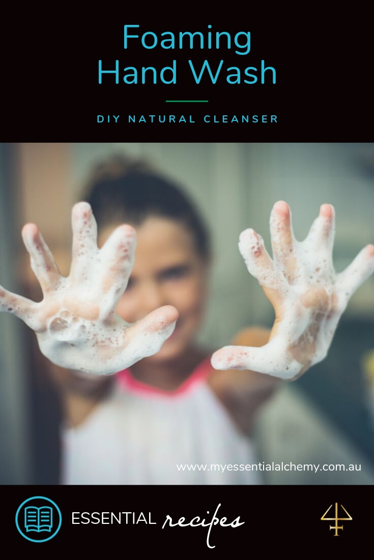 DIY foaming hand wash recipe