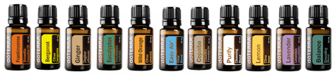 doTERRA single and blend oils