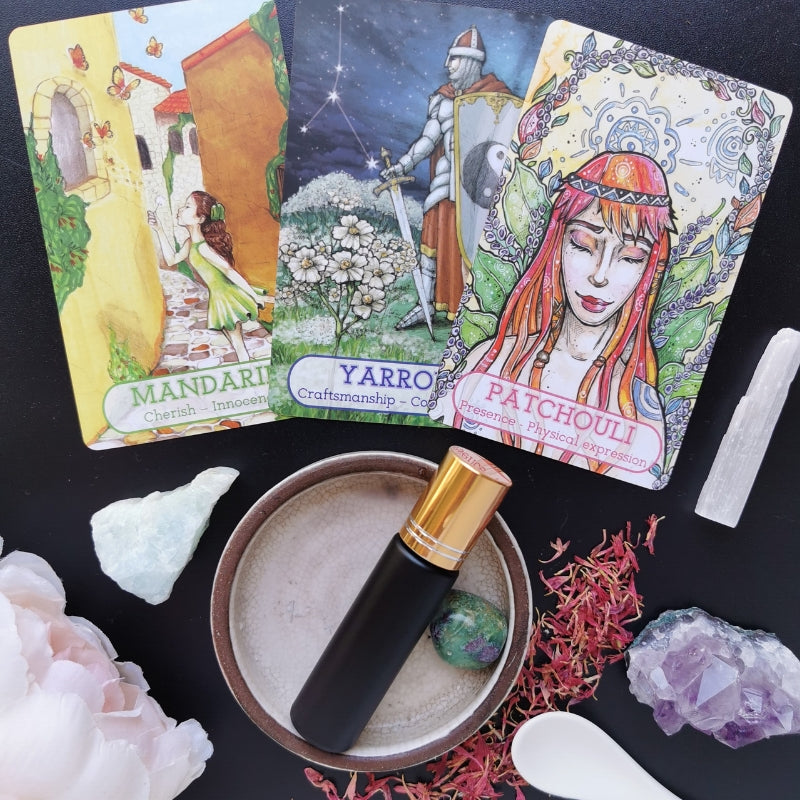 Guidance essential oil card readings