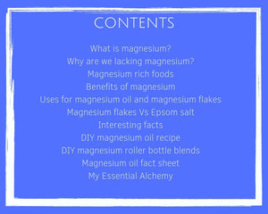 Magnesium Oil- ebook