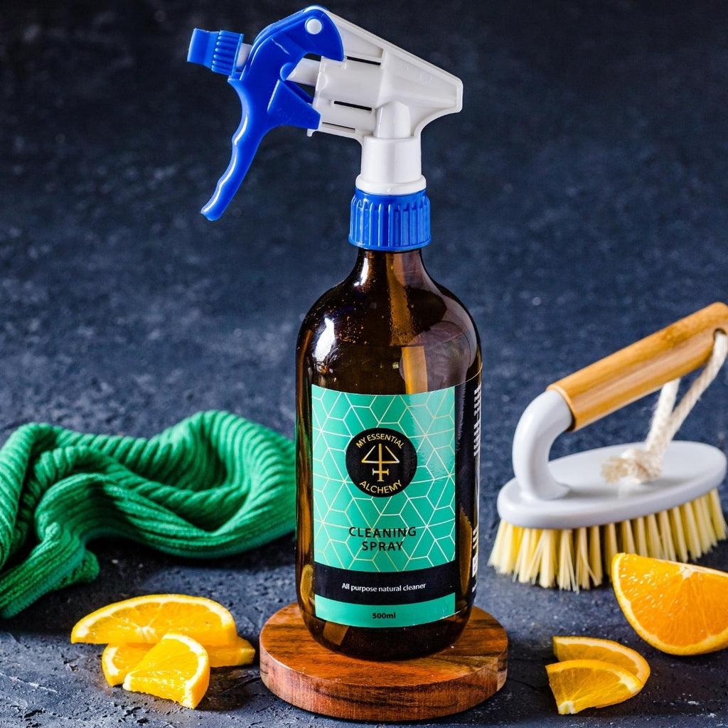 Natural cleaning spray no chemicals