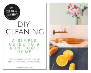DIY Cleaning ebook: A simple guide to a non-toxic home