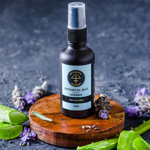 Calming bed and relax body spray