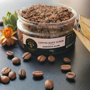 coffee body scrub natural grapefruit oil sugar tan