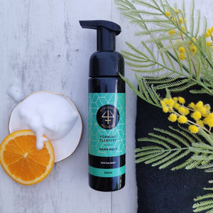 foaming hand wash chemical free