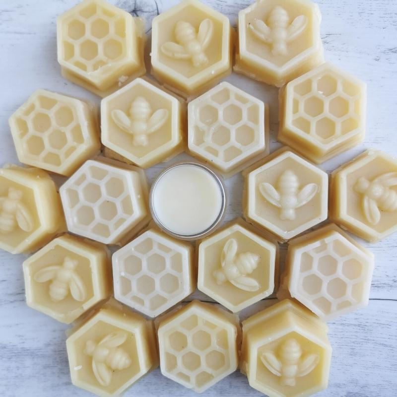 honey beeswax lip balm dry lips cuticle balm
