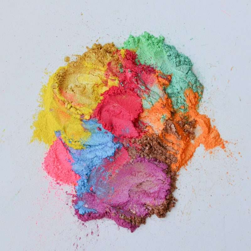 mica powders colours for DIY