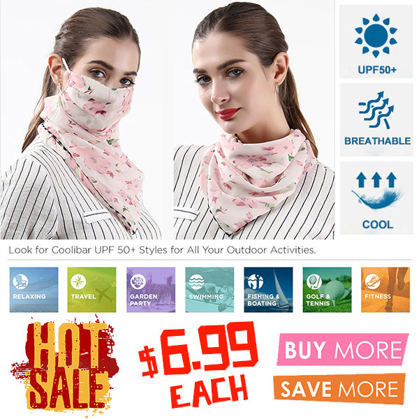 Breathable Chiffon Sunscreen Scarf