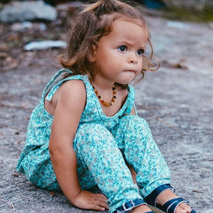 OAK MEADOW KIDS - SEA SIDE DREAMING OVERALLS