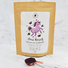Load image into Gallery viewer, UNICORN SUPERFOODS - 100% NATURAL ACAI BERRY POWDER