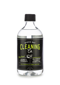 BYRON BAY CLEANING CO. - ALL PURPOSE CLEANER & DISINFECTANT CONCENTRATE/REFILL 500ml