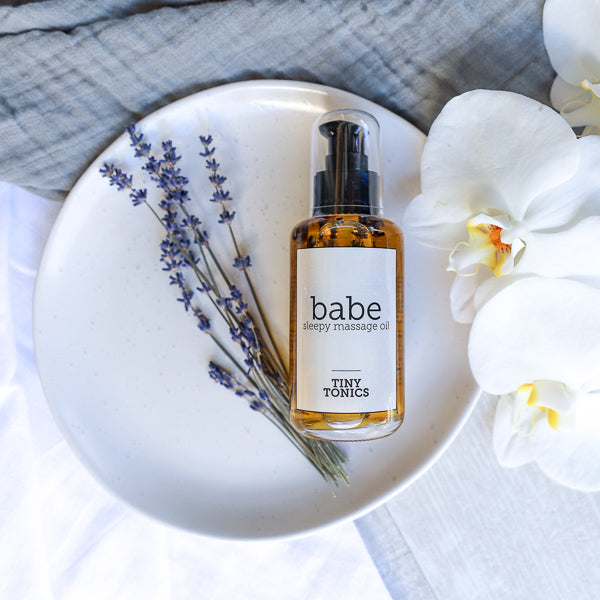 TINY TONICS - BABE SLEEPY MASSAGE OIL - FOR BABY